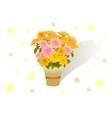 Bouquet of asters vector | Price: 1 Credit (USD $1)