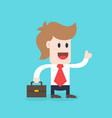 businessman cartoon character - male wearing shirt vector image vector image