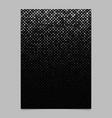diagonal square pattern poster design - mosaic vector image vector image