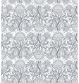 gray lace background vector image vector image