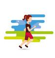 people sport activity vector image vector image