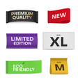 premium quality new limited edition eco vector image vector image