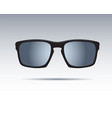 sunglasses isolated icons vector image vector image