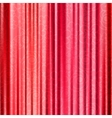 Red background with opera curtains with floral vector image