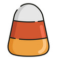 Candy corn linecolor
