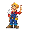 Construction worker vector | Price: 3 Credits (USD $3)