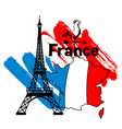 france background design vector image