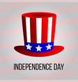 independence day 4 th july happy independence day vector image vector image