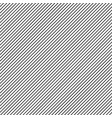 seamless simple pattern diagonal lines on white vector image