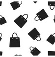 shopping bag seamless pattern background business vector image vector image