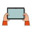 tablet technology isolated vector image vector image
