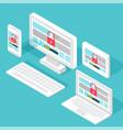 vulnerability search seo optimizationweb vector image vector image