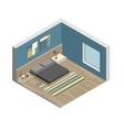 Bedroom vector image