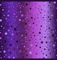 glowing star pattern seamless gradient background vector image