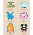Angry animals vector image vector image