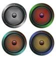 Audio Speaker Icon5 vector image vector image