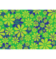 Daisy Pattern background vector image