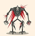 eksoskeleton robot vector image vector image