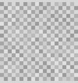 gray checkered square pattern seamless background vector image vector image