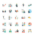 human resources and management icons 11 vector image vector image