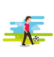 people sport activity vector image vector image