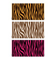skin zebra seamless pattern vector image vector image