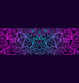 abstract psychedelic trippy cyberpunk abstract vector image vector image