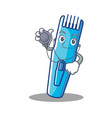 doctor trimmer character cartoon style vector image vector image