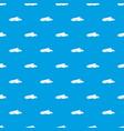 golf visor pattern seamless blue vector image vector image