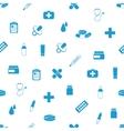 pharmacy seamless pattern vector image
