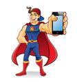 Superhero Gadget vector image vector image