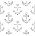 anchors as seamless background vector image
