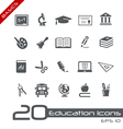 Education icons basics vector | Price: 1 Credit (USD $1)