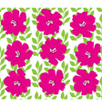 floral seamles background vector image vector image