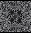 monochrome seamless background pattern vector image vector image