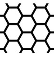 seamless pattern hexagons vector image vector image