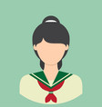 student characte icon great of character use for vector image