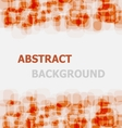 Abstract orange rounded rectangle overlapping vector image vector image