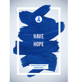 clorectal cancer awareness creative grey and blue vector image vector image