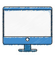 Computer desktop isolated icon