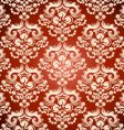 floral ornament wallpaper vector image vector image