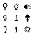 light icons set vector image vector image