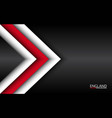 modern overlayed arrows with english colors vector image vector image