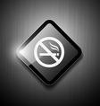 No smoking sign modern design vector image vector image