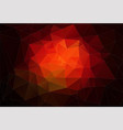 red 2d abstract and polygonal background vector image vector image
