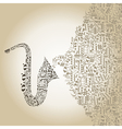 Saxophone5 vector image vector image