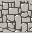 seamless pattern cobblestone pavement vector image vector image