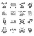 Translation And Dictionary Icon vector image vector image