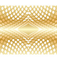 Abstract background circles red gold vector image vector image