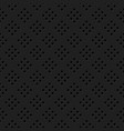 black technology background with seamless vector image vector image